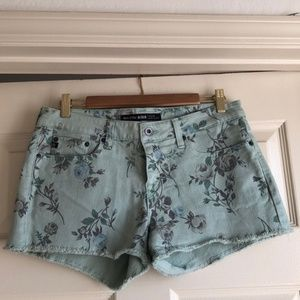 Big Star, Mid-Rise, Floral Shorts. Lovely!